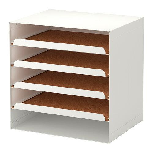 【IKEA Original】KVISSLE-クヴィッスレ- レタートレイ ホワイト
