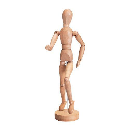 【IKEA Original】GESTALTA デッサン人形 ナチュラル 33 cm
