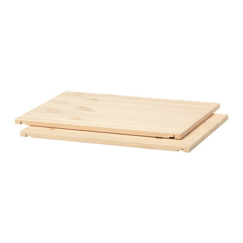 【IKEA Original】TROFAST-トロファスト- 棚板 ライトホワイトステインパイン パイン材 2ピースセット 30 cm