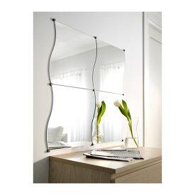 【IKEA Original】KRABB ウォールデコレーション ミラー 44x40 cm 4 ピース