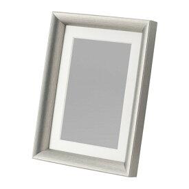 【IKEA Original】SILVERHOJDEN フォトフレーム 写真フレーム シルバーカラー 13x18 cm