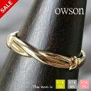 ピンキーリング 18k 18金 リング 指輪 [owson] 華奢 シンプル k18 ゴールド 小指 レディース ピンキー アクセサリー …