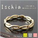 18金 ゴールド ピンキーリング [Ischia] -2号 -1号 0号 1号 2号 3号 4号 5号 6号 7号 小指 指輪 リング ring ピンキー アク...