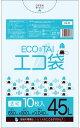 1冊あたり128円 10枚x40冊 ごみ袋 45リットル LN-63 0.040mm厚 透明/ポリ袋 ゴミ袋 エコ袋 袋 サンキョウプラテック …