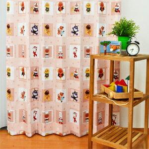 ●日本製●アンパンマンカーテン子供部屋カーテン女の子カーテン男の子カーテンイエロードキンちゃんバイキンマンキッズカーテン子どもオーダーカーテンかわいいあんぱんまんピンクキャラクターYKSA1071東リ
