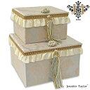 ジェニファーテイラー 2pボックス Jennifer Talor Lorraine ロレーヌ オシャレ かわいい 2段ボックス アメリカ 輸入 …