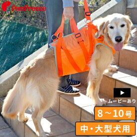 【ポイント5倍でお得】中型犬 大型犬用介護用品 介護ハーネス オールケアハーネス 8号〜10号介護用 ハーネス [ポンポリース]