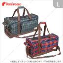 【定価の20%OFF】(ポンポリース)ダックス兼用 トラベルキャリー タータンチェック L /犬猫 バッグ バック コンテナ ボックス