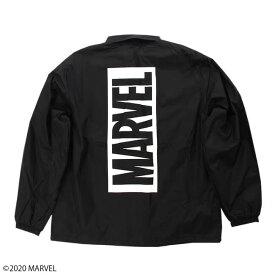 【MARVEL(マーベル)】マーベル ボックスロゴ コーチジャケット