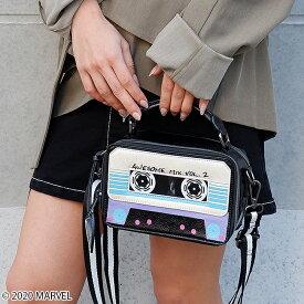 【MARVEL/ガーディアンズ・オブ・ギャラクシー】カセットテープ/ショルダーバッグ(DANIELLE NICOLE)