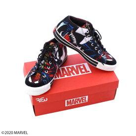 【MARVEL(マーベル)】スパイダーマン&ヴェノム&カーネイジ RFWスニーカー