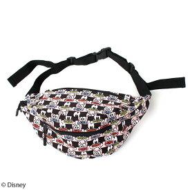 【Disney(ディズニー)/グーフィー&マックス】総柄ボディバッグ