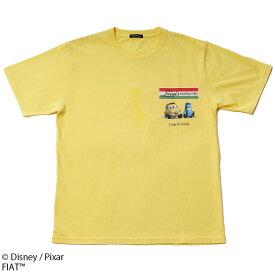 【Disney/Pixar(ディズニー/ピクサー)/カーズ】ルイジとグイド Luigi's CASA DELLA TIRES/Tシャツ