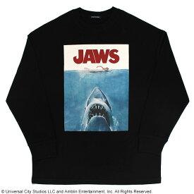 【JAWS(ジョーズ)】ポスターデザイン/ロングスリーブTシャツ