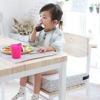お子様用お食事クッションBIGダマスク座布団高さ調節キッズチェアベビーチェア子供椅子