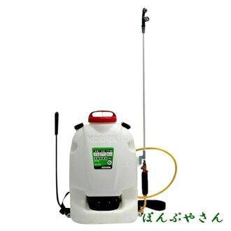 對RW-10DX工進脊背負式手動噴霧器gurandomasutakoshin KOSHIN手推蓄壓的算式進行噴霧的家庭菜園噴霧
