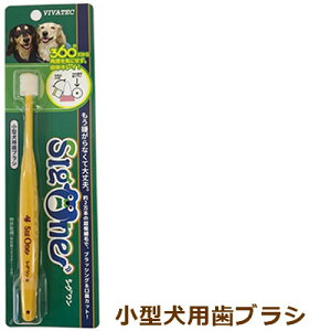 歯ブラシ シグワン 小型犬用 送料無料*普通郵便のため代引きはお選びいただけません。