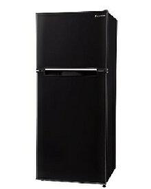 エスキュービズム 2ドア冷凍冷蔵庫 118L 4562434296498 WR-2118BK