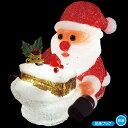 LEDクリスタルモチーフ (ケーキサンタ) クリスマスデコレーション イルミネーションライト  TX5-0017  H18×W2…
