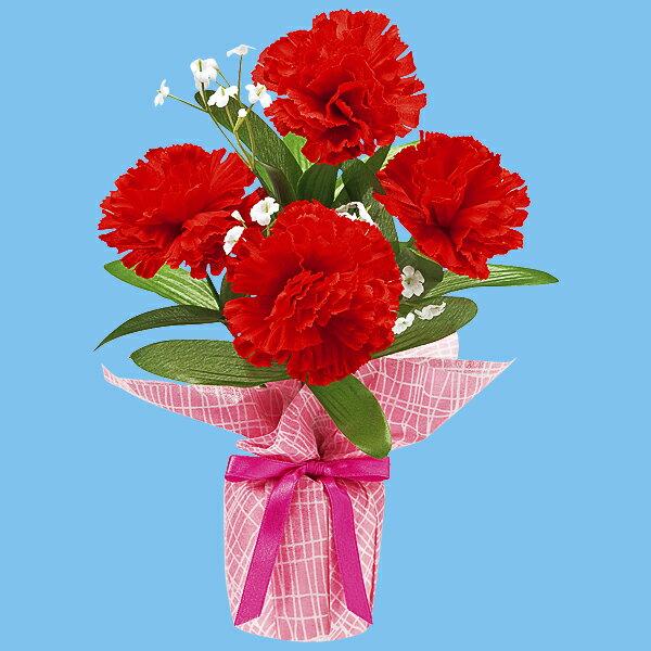 カーネーションバリューラッピングポット | 母の日カーネーション造花