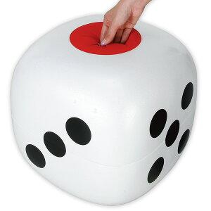 コロコロサイコロ(ビックサイズ) 抽選グッズ 抽選箱・応募箱・募金箱  XT8-0034 発泡スチロール 35×35×35cm