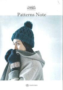 編物本 ダルマイングス KN12 miniブック Patterns Note 1冊 雑貨【取寄商品】