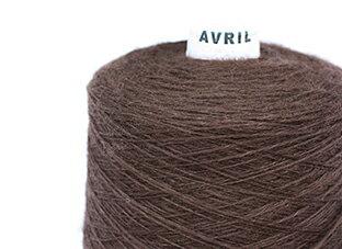 【合太】AVRIL ブレーメン 100gコーン巻単位販売【毛・メリノ】【取寄商品】【毛糸】【編み物】