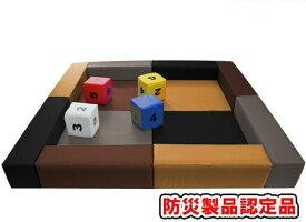 キッズコーナー2.2m×2.2m 選べる20色 ショールームにぴったり。