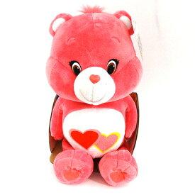ケアベア ぬいぐるみ ミディアム (ラブアロットベア) 11676a 【Care Bear Love-a-lot Bear ハート ピンク 人形 くま おもちゃ グッズ インポート 輸入】メール便不可