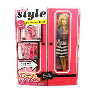 嫁祸为巴比壁橱&时装安排11726 Barbie玩偶多尔房屋,买,进口进口yuu分组不可能