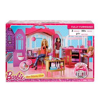 嫁祸为巴比Glam Getaway House别墅11727 Barbie玩偶多尔房屋,买,进口进口yuu分组不可能