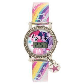Packet impossibility to say maile torr pony charm watch 11734 My Little Pony clock watch kids import import belonging to