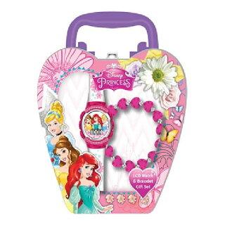 迪士尼公主表&手镯安排11737 Disney公主钟表手表手镯配饰进口进口yuu分组不可能