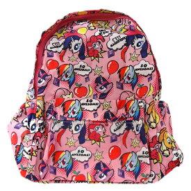 マイリトルポニー MY LITTLE PONY バッカブル バックパック ふきだし 11881 リュック バッグパック バッグ 鞄 折りたたみ メール便不可【ds】