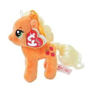 マイリトルポニー ぬいぐるみマスコット ( アップルジャック ) 12009 My Little Pony Applejack ty キーチェーン グッズ メール便不可【10】