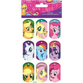 マイリトルポニー ステッカー レンティキュラー 3D 12060 My Little Pony シール 3Dステッカー ポニー インポート かわいい キャラクター グッズ 送料無料 メール便配送【10】