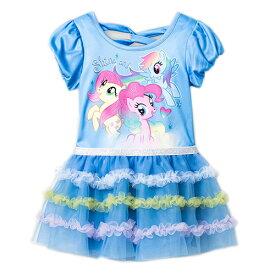 マイリトルポニー キッズドレス 2歳用 12153 My Little Pony ドレス ワンピース 女の子 洋服 水色 ポニー メール便不可【ds】