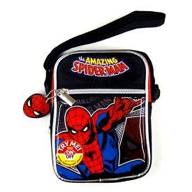 スパイダーマン ショルダーバッグ 12411 SPIDER-MAN MARVEL シリングバッグ メール便不可