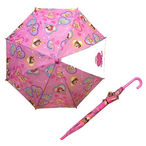 ディズニープリンセス ワンタッチ 傘 50cm キッズアンブレラ 傘 かさ 女の子 かわいい ピンク パープル ピンク 水色 雨具 女児 女子 小学生 かわいい キャラクター グッズ DISNEY プレゼント 雨の日 13228