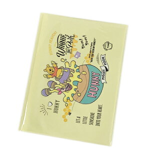 くまのプーさん ファイル B5 Wフラットケース かわいい グッズ 13358 DCWT/PH ディズニー フラットファイル ポケットファイル おしゃれ キャラクター 雑貨 イエロー 黄色 ステーショナリー 文房