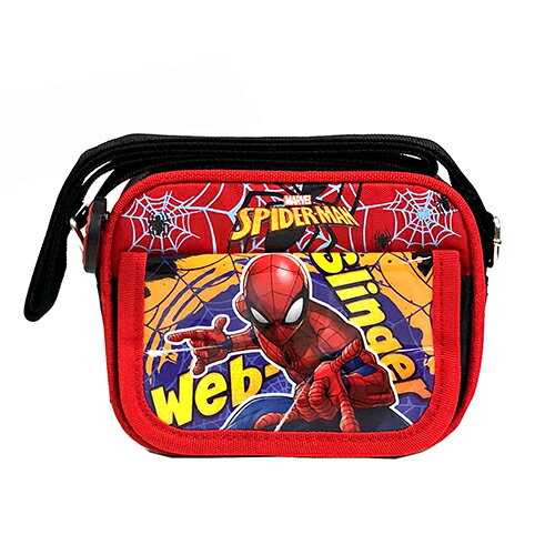 【ポイント5倍】スパイダーマン ポシェット ショルダーバッグ 12895 SPIDER-MAN MARVEL 鞄 キャラクター グッズ メール便不可