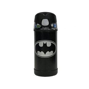 バットマン 水筒 サーモス ストローボトル 14250 保冷 アメコミ ヒーロー BATMAN 子供用 ステンレス キッズ 男の子 ブラック アメリカ コミック かっこいい THERMOS カラフル キャラクター グッズ