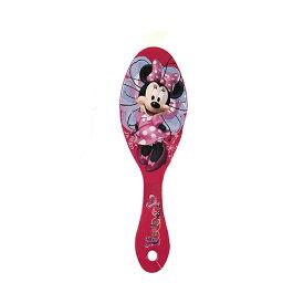 ミニーちゃん ヘアブラシ 14280c ブラシ ミニー ディズニー Disney くし レッド ヘアメイク クシ 景品 ミニーマウス かわいい 女の子 幼児 子ども キッズ おしゃれ プレゼント インポート 輸入品 メール便不可