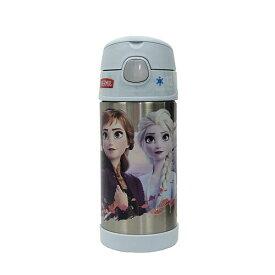 アナと雪の女王2 水筒 サーモス ストローボトル 14397 保冷 アナ雪 エルサ アナ オラフ ディズニー 子供用 ステンレス キッズ 女の子 Disney THERMOS かわいい アナ雪2 キャラクター グッズ メール便不可