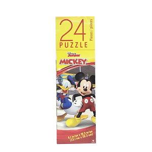ミッキー (B) 24ピース パズル 14411b ジグソーパズル ディズニー ミッキーマウス ドナルド プルート クラブハウス おもちゃ 知育玩具 男の子 幼稚園 保育園 キャラクター グッズ 輸入品 インポ