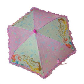 a484295868f53 ディズニープリンセス 傘 40cm 子供用 13701 キッズ 傘 ピンク グッズ 女の子 キッズ かさ 雨具 DisneyPrincess