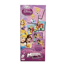 【店内ポイント5倍】ディズニープリンセス カード マッチングゲーム 13780 神経衰弱 おもちゃ オモチャ 絵合わせ キッズ 女の子 Disney Princess 女子 ミニゲーム グッズ 雑貨 輸入 インポート メール便不可