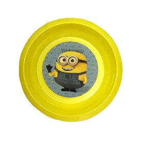 ミニオン プラスチック ボウルプレート 13798 ミニオンズ MINION 皿 食器 キャラクター 雑貨 グッズ 輸入品 インポート キッズ 子供用 お皿 キッズプレート メール便不可