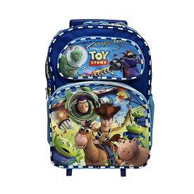 トイストーリー 2WAY リュックサック 13818 男の子 ローリングバックパック ディズニー Disney ピクサー TOY STORY キッズ 旅行 キャリーバッグ 子供 子ども キャラクターグッズ 輸入 インポート PIXAR メール便不可