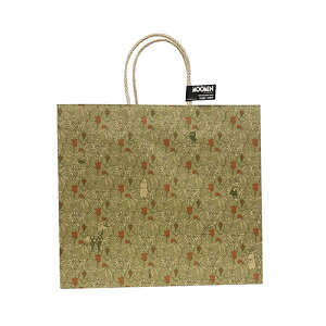 ムーミン キャリーバッグ (L) グレープバインOL MC846 14866 紙袋 MOOMIN ギフトバッグ 総柄 ミイ ミムラ フローレン スティンキー はなうま フローレン ペーパーバッグ 手提げ 袋 ラッピング かわ